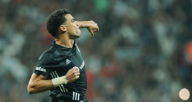 Beşiktaş's Brazilian star Pepe (AA Photo)