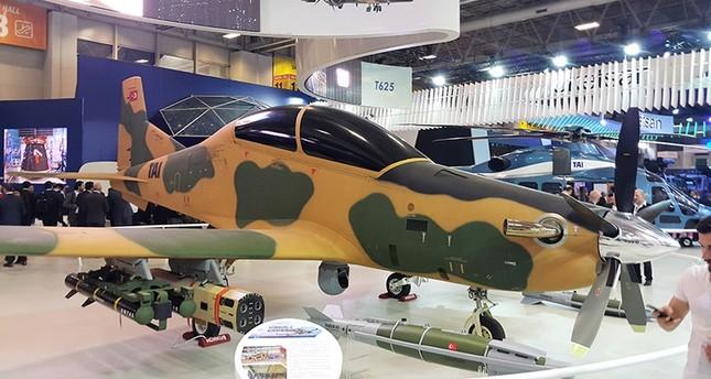 Hürkuş trainer aircraft (Sabah File Photo)