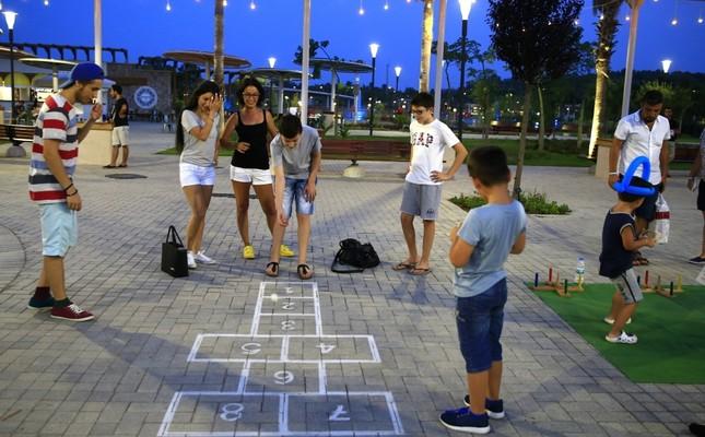 Traditional street games kept alive at EXPO Antalya