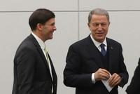 Turkish, US defense chiefs meet in Brussels, discuss Syria, Iraq