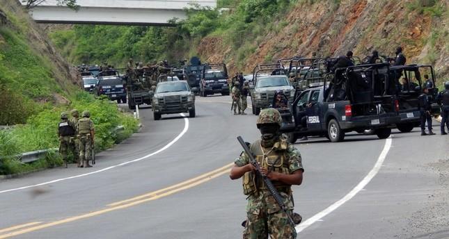 قوات الأمن المكسيكية في مكافحة المخدرات
