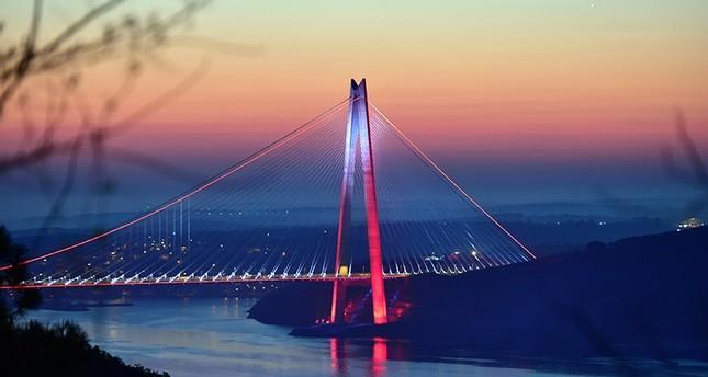 جسر السلطان سليم، إسطنبول (من الأرشيف)