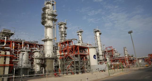 This March 16, 2019 file photo, shows a natural gas refinery at the South Pars gas field on the northern coast of the Persian Gulf, in Asaluyeh, Iran. (AP Photo)