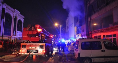 5 workers killed in Ankara factory fire