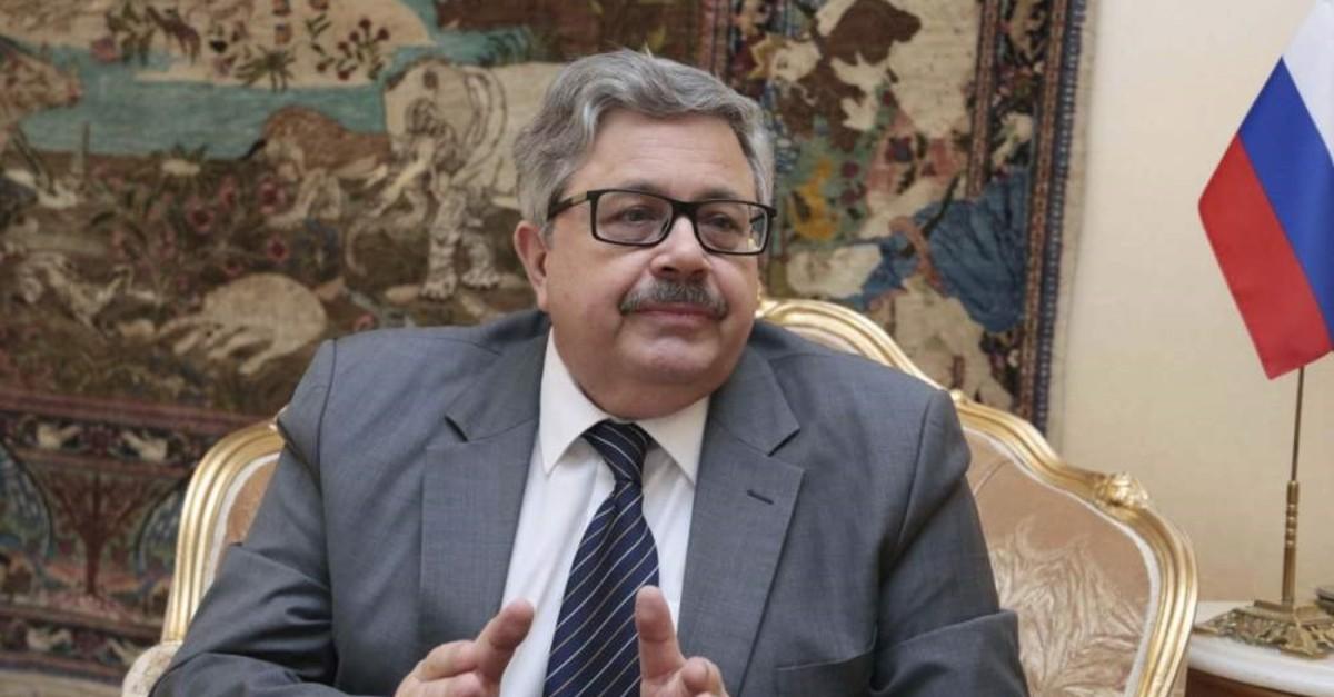 Russian envoy to Turkey Aleksei Erkhov.