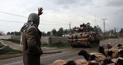Turkish forces, FSA take full control of Syria's Afrin region