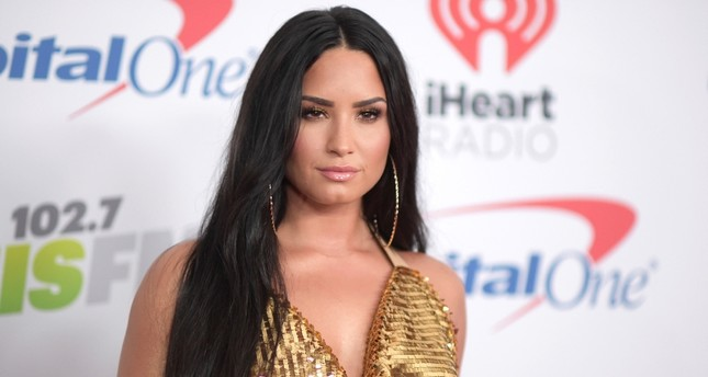 In this Dec. 1, 2017 file photo, Demi Lovato arrives at Jingle Ball at The Forum in Inglewood, Calif. (AP Photo)