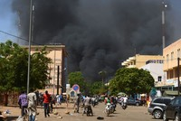At least 28 killed in 'terrorist attacks' on Burkina Faso army HQ, French embassy