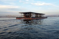 New Karaköy pier arrives at Istanbul's Golden Horn