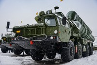 A storm has damaged parts of a Russian S-400 surface-to-air missile system while it was being shipped to China, RIA news agency said on Friday, quoting a Russian official.