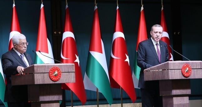 الرئيسان التركي والفلسطيني سيبحثان العلاقات الثنائية والمصالحة الفلسطينية بأنقرة