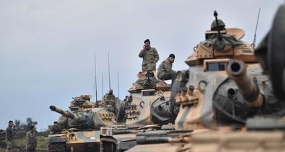 Türkei startet Artillerieschläge auf YPG-Stellungen