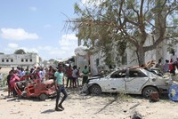 At least 8 killed in al-Shabaab car bombing in Somalia