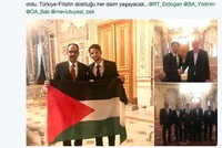 Palestinian athlete barred from US runs in Istanbul marathon, meets Erdoğan