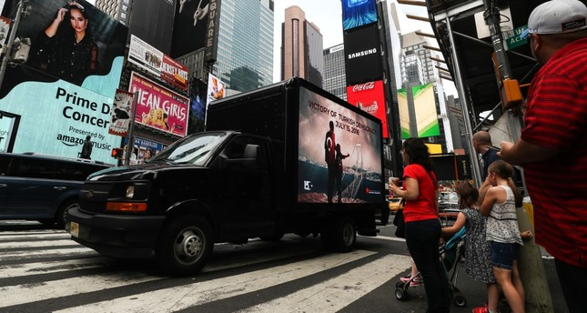 Van campaign in New York spreads awareness of July 15 coup attempt