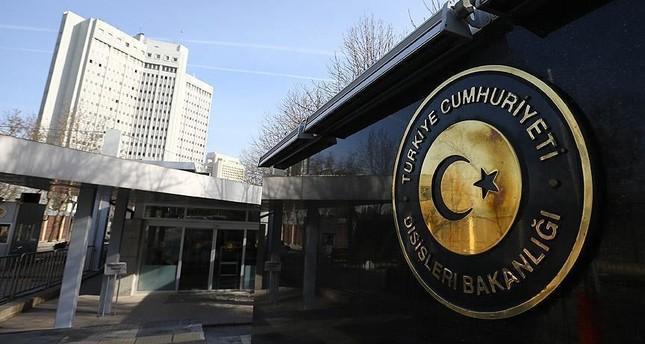 الخارجية التركية تستدعي القائم بالأعمال الروسي في أنقرة