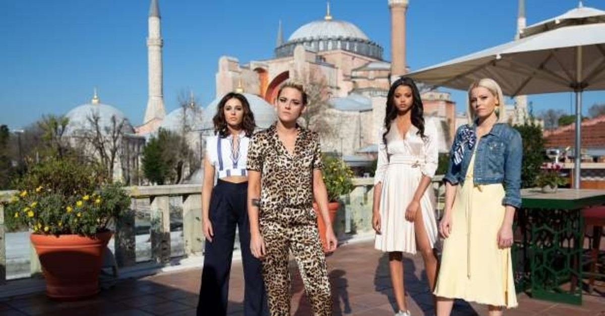 Actresses of u201cCharlieu2019s Angel: Silver Cloudu201d came to Istanbul for filming.