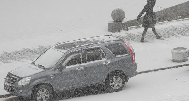 Первый снег: в Киеве за день произошли 500 аварий