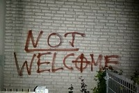 Mosque in Germany vandalized with slurs, swastikas
