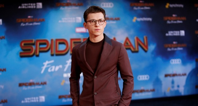 Actor Tom Holland poses at the World Premiere of Marvel Studios' Spider-man: Far From Home in Los Angeles, June 26, 2019. (Reuters Photo)