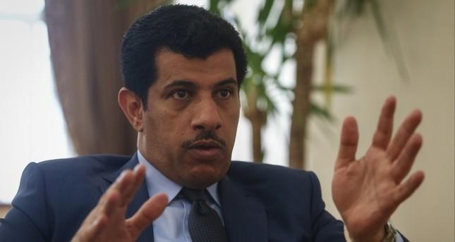 السفير سالم مبارك ال شافي سفير دولة قطر في تركيا