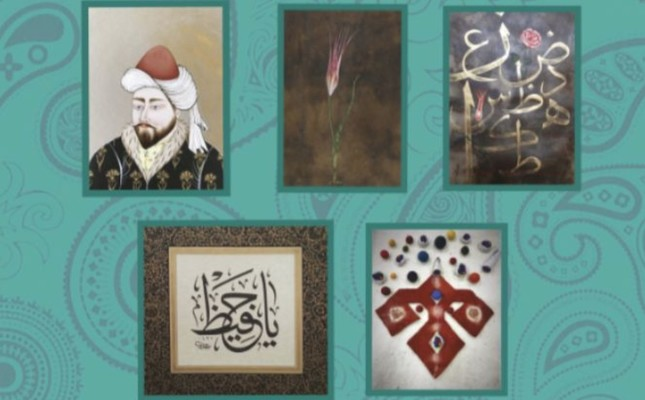 Traditional Turkish art exhibition opens in Russian capital Moscow