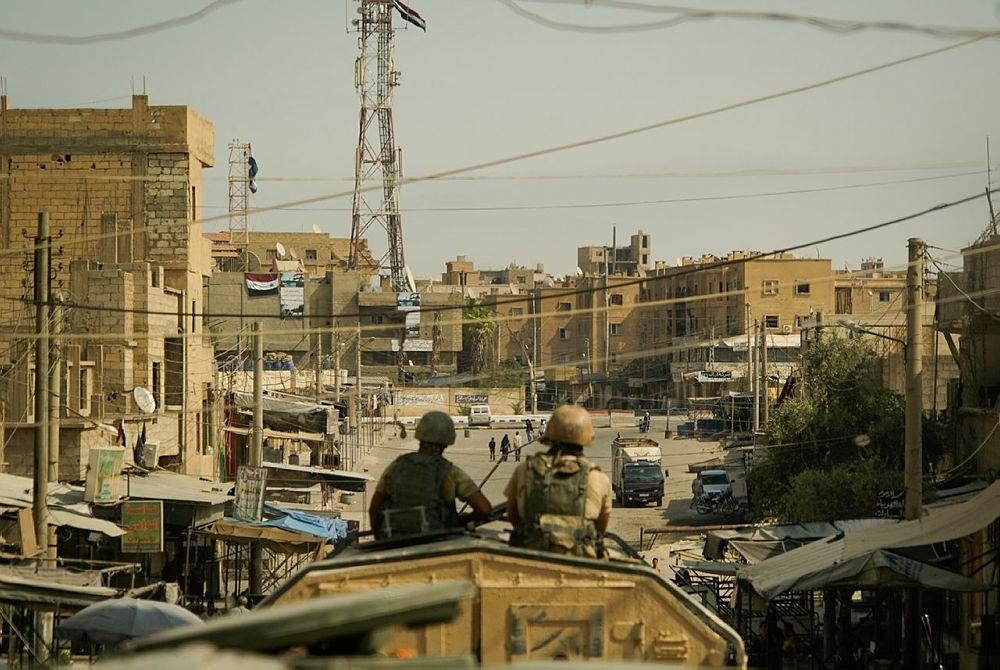 A view of the city of Deir ez-Zor, Syria, Friday, Sept. 15, 2017. (AP Photo)