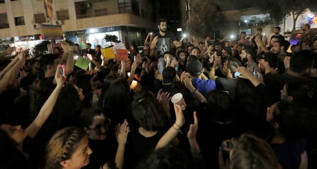 سوريون يعبرون عن تضامنهم مع ضحايا السويداء في دمشق EPA