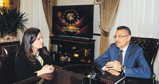 Vice President Fuat Oktay: Turkey to clear northern Syria from YPG 'sooner or later'