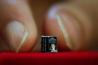 ديوان شعر صغير يتألف من 72 صفحة، بعرض 4 ميليمتر، وطول 6 ميليمتر، وهو أصغر كتاب قابل للقراءة في العالم - الأناضول