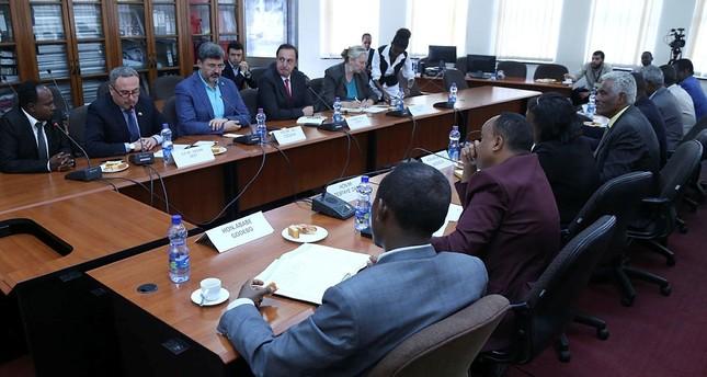 برلمانيون أتراك يبحثون التعاون الاقتصادي مع الرئيس الإثيوبي بأديس أبابا