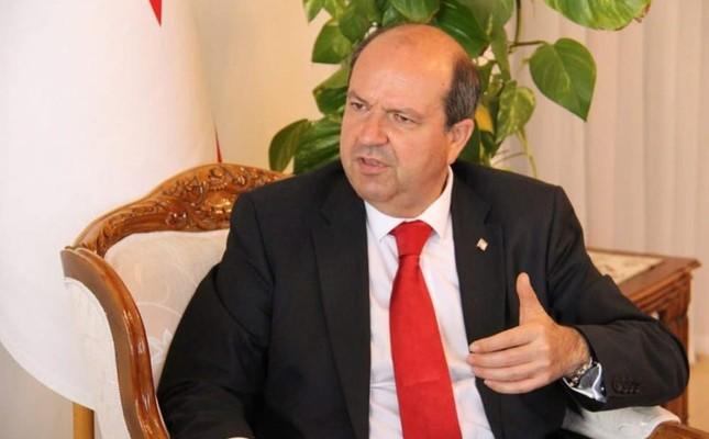 Turkish Cypriot Prime Minister Ersin Tatar. AA