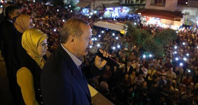 أردوغان: 13 ألف موقوف منذ محاولة الانقلاب الفاشلة في تركيا