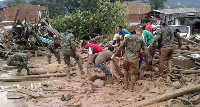 254 قتيلاً في سيول كولومبيا وتركيا تعرب عن استعدادها لإغاثة المتضررين