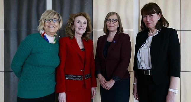 Female ambassadors in Ankara discuss women's issues ahead of Women's Day