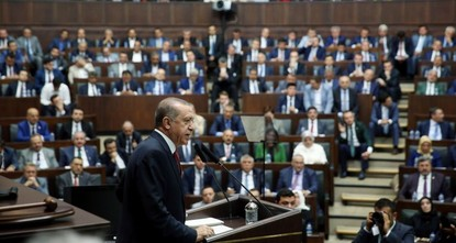 pPresident Recep Tayyip Erdoğan on Thursday gathered Justice and Development Party (AK Party) deputies and ministers at party headquarters and called for more intensive efforts to win the hearts...