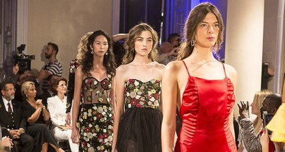 pTurkish designer Zeynep Kartal's new collection was presented on the catwalk at London Fashion Week on Monday. Held at Somerset House in London with the support of the Culture and Tourism Ministry...