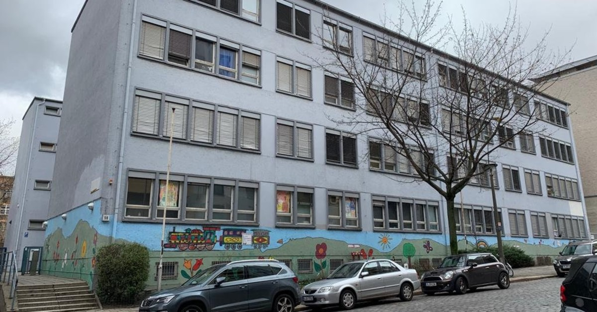 This building in Berlinu2019s Strassburger Street is among the shelters FETu00d6 members stay in while awaiting approval for their asylum requests.