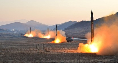 pNorth Korea test-fired a ballistic missile on Saturday from a region north of its capital, but it appears to have failed, South Korea's military said, defying intense pressure from the United...