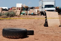 Man arrested at New Mexico compound trained children to commit school shootings, documents reveal