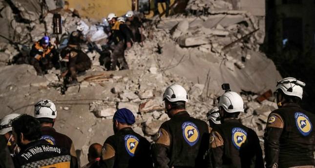 منظمة الخوذ البيضاء أنقذت أكثر من 100 ألف شخص منذ بداية النزاع السوري والعديد من أعضائها قد دفعوا حياتهم أو صحتهم ثمنًا لذلك