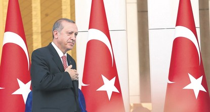 Erdoğan takes oath as president of Turkey's new executive system