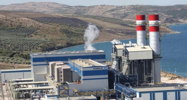 مصنع لشركة إينرجي سا التركية للطاقة