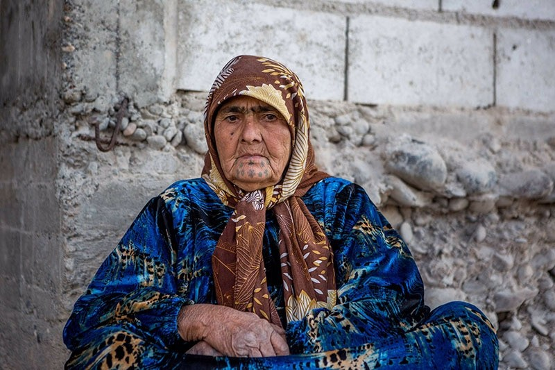 Humeysh's neighbor in her building, 80-year-old Zeyneb Omar, moved to Jarablus during Qurban Bayram. (Photo: Sabah / Uğur Yıldırım)