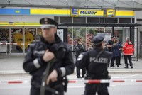 2 heavily injured after gunmen attack Turkish supermarket in Germany
