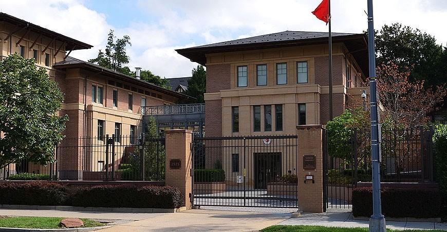 The Turkish Embassy in Washington, D.C.