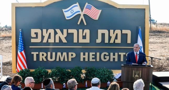 Netanyahu unveils 'Trump Heights' Golan settlement