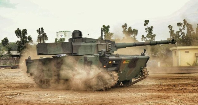 KAPLAN MT is the first tank that the Turkish defense industry has exported. AA Photo