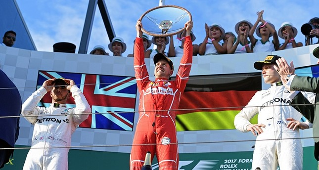 Ferrari hints at a tight season as Vettel wins Australian Grand Prix