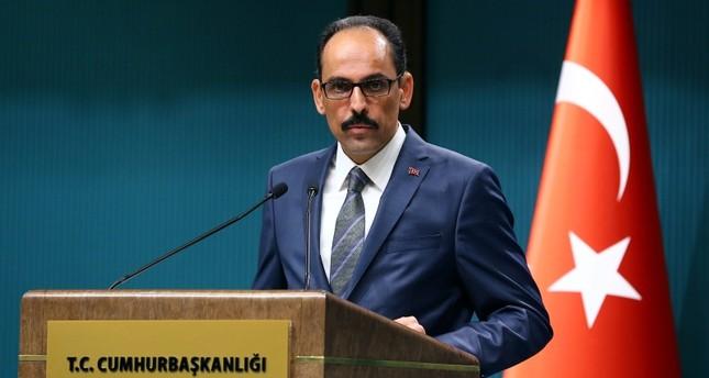متحدث الرئاسة التركية: فلسطين ليست وحيدة والاحتلال سينتهي